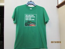 Size L Wear Are For Birmingham UAB Green T-shirt University Alabama B-ham Dragon