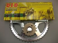 Yamaha YZF-R1 06-08 JT and DID 530VX 17//45 X-ring Chain and Sprocket Kit