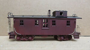 Precision Illinois Central Woodside Caboose Brass HO