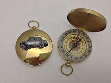 Riley Elf MK3 ref211 Effet Étain Emblème voiture sur un golden compass