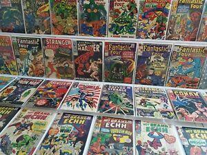 50 Marvel Silver Lot Sub-Mariner 8 Fantastic Four 45 57 Strange Tales 113