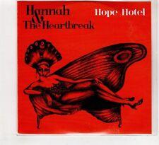 (HC743) Hannah & The Heartbreak, Hope Hotel   - 2015  DJ CD