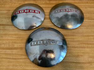 "1949-1950 Dodge Dogdish, Poverty Hubcaps  10""  Dog dish set of 3 Hub Caps"