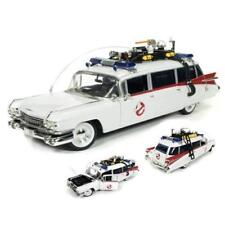 Auto World Car Collectors 1959 Cadillac Ghostbusters Ecto-1 Scale 1:21