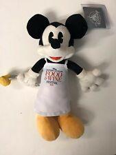 New listing Dca 2019 Disney California Adventure Food & Wine Festival Mickey Mouse Plush