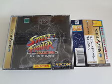 Street Fighter Collection w/spine Sega Saturn Japan