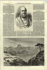 1868 BUSTO ritardo Marquis di Salisbury British CAMP abyssinia
