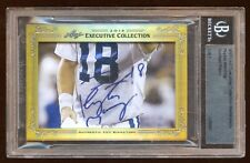 PEYTON MANNING 1 OF 1 AUTOGRAPH MASTERPIECE EXCUTIVE COLLECTION  SUPER RARE PULL