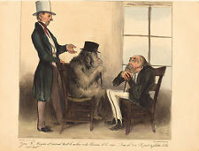 Honore Daumier Reproductions: Look M. Mayeux, at the animal... - Fine Art Print