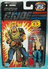 G I GI JOE 25TH ANNIVERSARY SERIES DREADNOK BUZZER FIGURE MOC