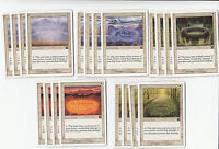 20 Circle of Protection - 6th Edition - NM/SP  4x of each - Sets - Magic MTG FT