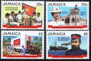 Jamaica - Scott# 671-74 - Mint VF-LH - 1987 Set