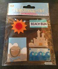 Pegatinas dimensional Crafts Álbum de Recortes Tarjetas verano arte hecho a mano personalizar Beach
