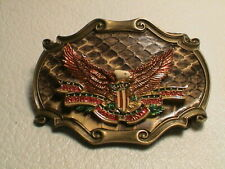 NRA NATIONAL RIFLE ASSOCIATION THE RIGHT TO KEEP & BEAR ARMS MENS BELT BUCKLE