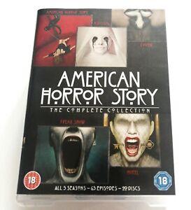 American Horror Story Collection DVD Box Set Season Series 1 2 3 4 5