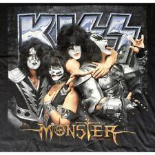 Camiseta Kiss Monster Negro - Talla XL - Nuevo - Oficial Genuino Posa Vasos