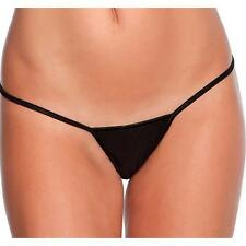 Le Mystere L'Image Collection 855 Y - not string Black Nylon G-String Thong - L
