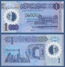 LIBYEN / LIBYA  1 Dinar (2019) Polymer  UNC P. NEW