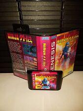 Ninja Gaiden Game for Sega Genesis! Cart & Box