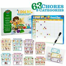 Toddler Chore Chart - 63 Behavioral Chores as Potty Train, Behavior & More.