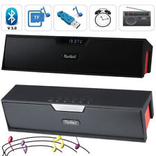Wireless Bluetooth Mini Speaker Boombox FM Clock for iPhone Samsung Tablet PC