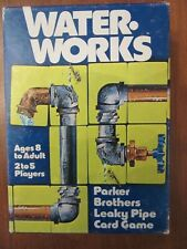 (1976) WATER WORKS~VINTAGE PARKER CARD GAME~NO. 770~LEAKY PIPE~FAMILY~