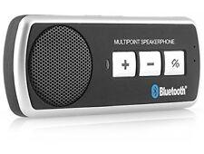 AKORD® Wireless Bluetooth Handsfree Car Kit Speaker phone + Sun Visor Clip + ...