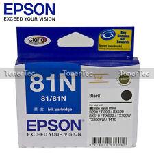 Epson Genuine 81 High Yield BLACK Ink for Artisan 725 730 835 Stylus T50 T111192