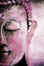 STUNNING ANCIENT BUDDHA STATUE #4 SPIRITUAL CANVAS PICTURE WALL ART A1 30x20