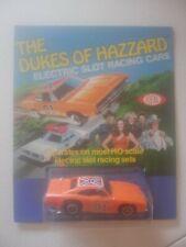 1981 Ideal HO Slot Car Dukes of Hazard Dodge Rebel Charger General Lee Rare NOS