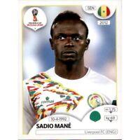 Panini WM 2018 625 Sadio Mane Senegal World Cup WC 18 Rookie