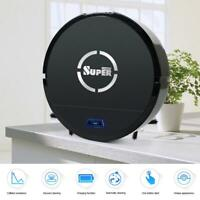 Automatic Robotic Robot Vacuum Cleaner Mop Sweep Floor Recharge USB Battery