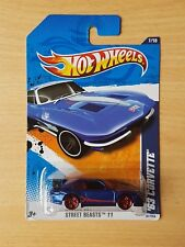 Hot Wheels Porsche 911 Error Card 63 Corvette