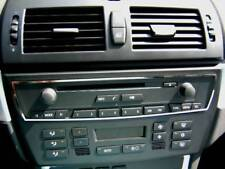 D BMW X3 E83 Chrom Rahmen für Radio/ CD - Edelstahl poliert