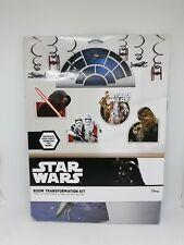Star Wars Episode VII Room Transformation Kit Birthday Party Decorations