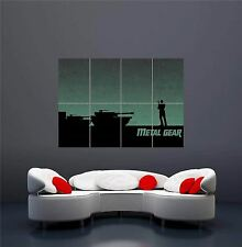 XBOX ONE PS3 PS4 PC GAME METAL GEAR SOLID 2 GIANT NEW ART PRINT POSTER OZ1220