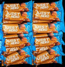 20 QUEST HERO NUTRITION PROTEIN BAR CHOCOLATE CARAMEL PECAN 2.12 oz GLUTEN FREE