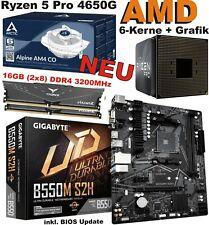 AMD Ryzen 5 Pro 4650G 3,70GHZ Hexa-Core AM4 Prozessor (100-000000143)