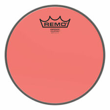 """Remo Emperor Colortone Red Drumhead 8"""""""