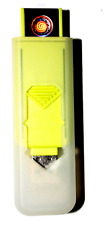 USB Smart Lighter by Champ High Power Long Life Rechargeable Brand New YELLOW