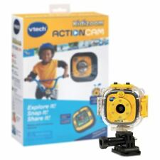 New Vtech Kidizoom Action Cam w/ Mounting Gear & Waterproof Case Official