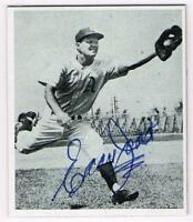 Original Autograph PSA/DNA of Eddie Joost of the Philadelphia A's, 1947B