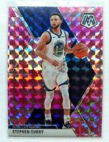 Stephen Curry Panini Mosaic Pink Camo Prizm #70 Golden State Warriors NBA Steph