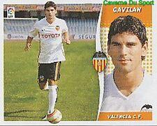 10 GAVILAN VALENCIA.CF ESPANA ULTIMOS FICHAJES STICKER LIGA ESTE 2007 PANINI