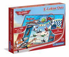 NEUF / embal. origine Clementoni E-Lektor Quiz Disney Avions 69264 Apprendre jeu