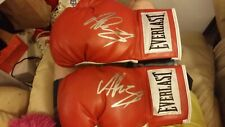 ANDY RUIZ JR THE DESTROYER SIGNED AUTOGRAPHED BOXING GLOVES MEXICAN CHAMP+PROOF