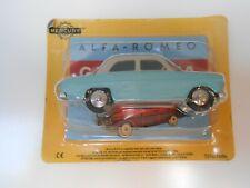 Car alfa romeo giulietta mercury Hachette 1/48 1:48 model car miniature