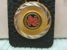 NOS Rare Norton Motorcycles keychain key chain holder fob Made in Italy