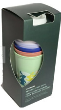 Starbucks 2021 Spring Easter Hoppy Hot Reusable Cups Set of 6 New with Box