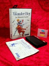 WONDER BOY IN MONSTER LAND SEGA Master System 1988 PAL SMS Platfom Action RPG